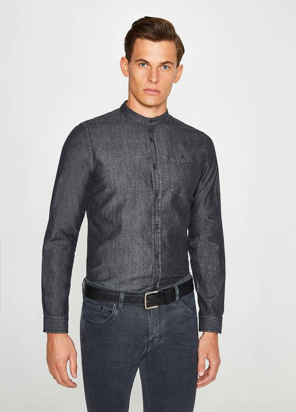 Freizeithemd Slim Fit aus Jeans | OVS