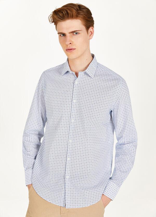 Casual-Hemd reine Baumwolle Muster