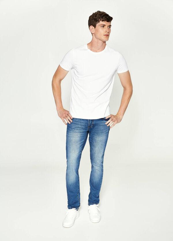 Jeans Straight Fit mit Used-Effekt | OVS