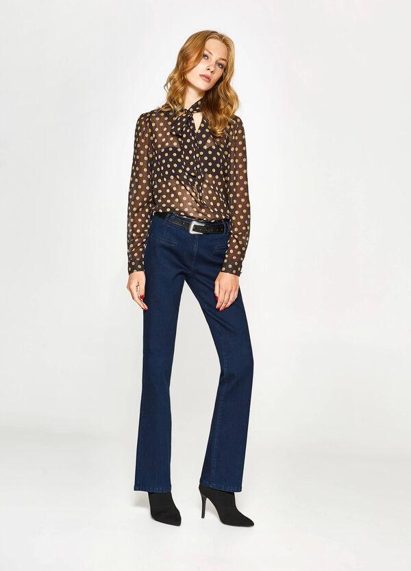 Einfarbige Stretch-Jeans | OVS