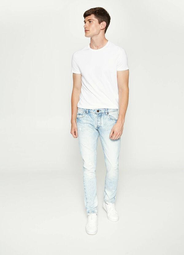 Jeans Slim Fit mit Effekt-Färbung | OVS