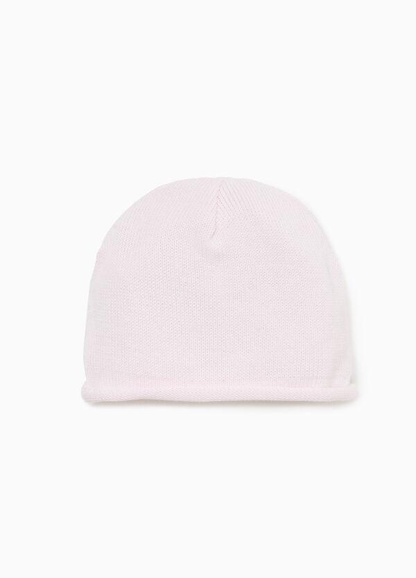 Mütze mit aufgerolltem Saum
