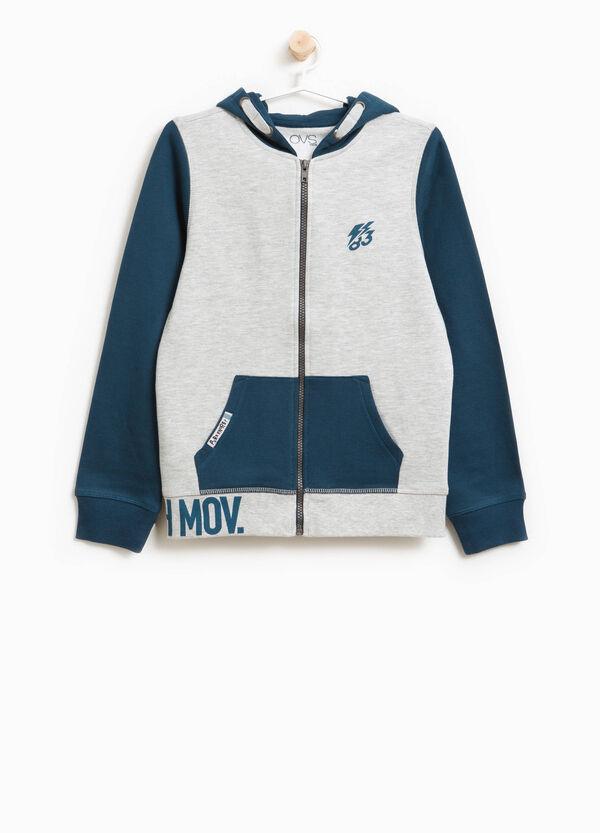 Sweatshirt Baumwolle und Viskose mit Aufdruck | OVS