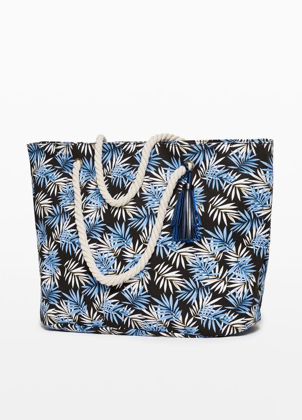 Strandtasche aus Baumwolle Muster