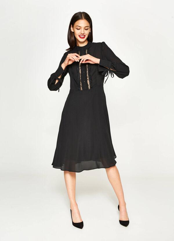 Longuette-Kleid mit Spitze | OVS