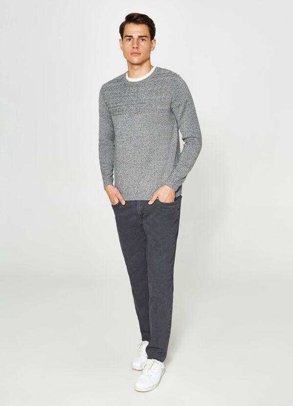 Hose Slim Fit aus Baumwollstretch | OVS