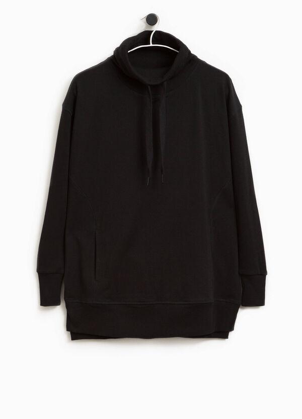 Sweatshirt aus Baumwoll-Mix Smart Basic