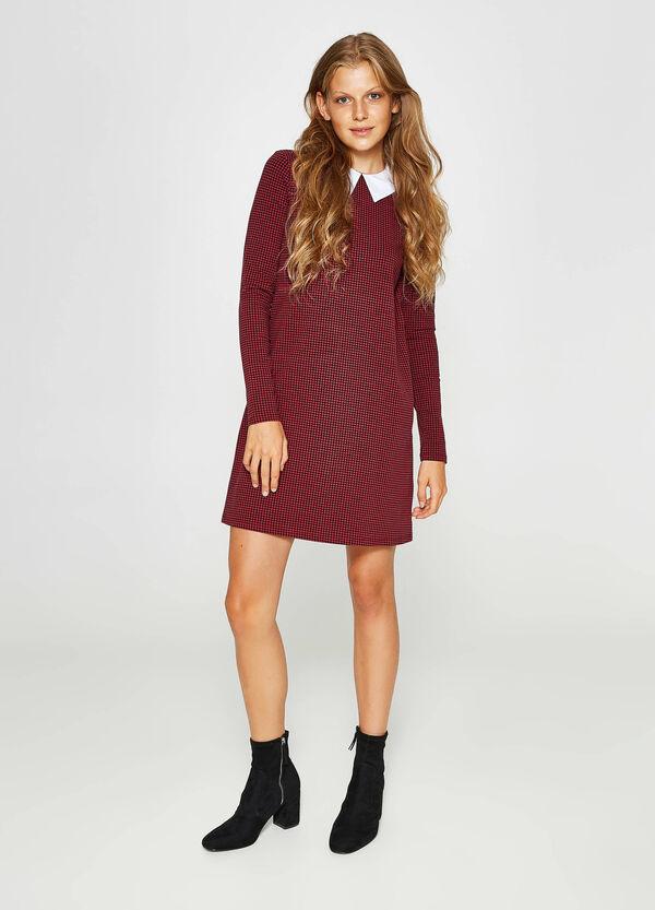 Kleid Baumwollstretch mit Kragen | OVS
