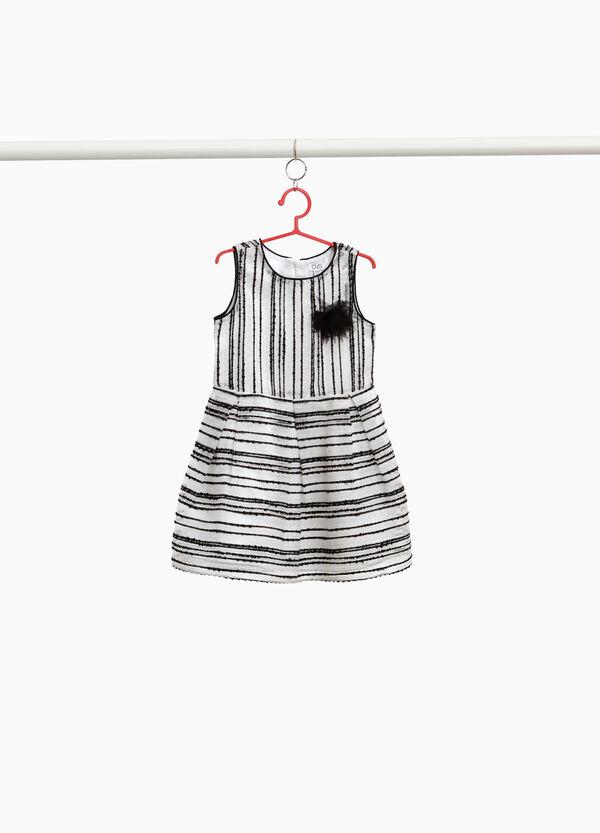 Ärmelloses Kleidchen Streifenmuster