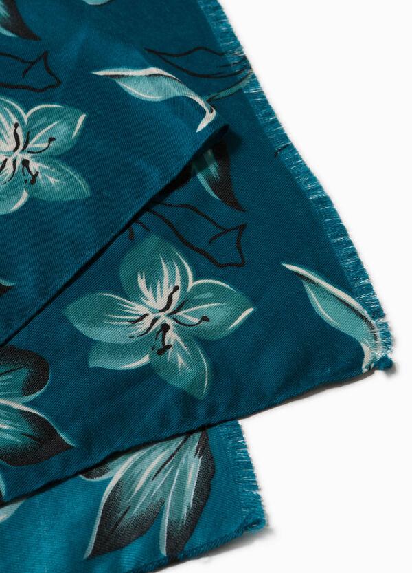 Pashmina Blumen ausgefranste Ränder | OVS