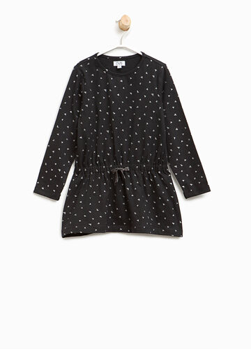 Langes T-Shirt Muster aus Baumwolle