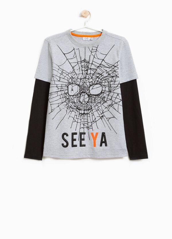 T-Shirt Baumwolle Aufdruck Halloween | OVS