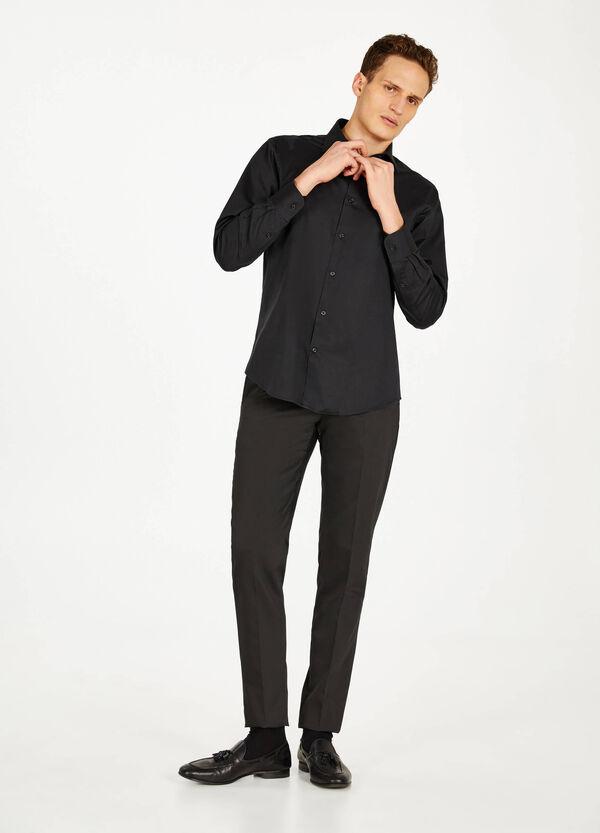 Business-Hemd Regular Fit Baumwolle