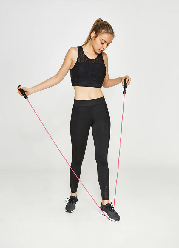Crop-Top OVS Active Sport Training