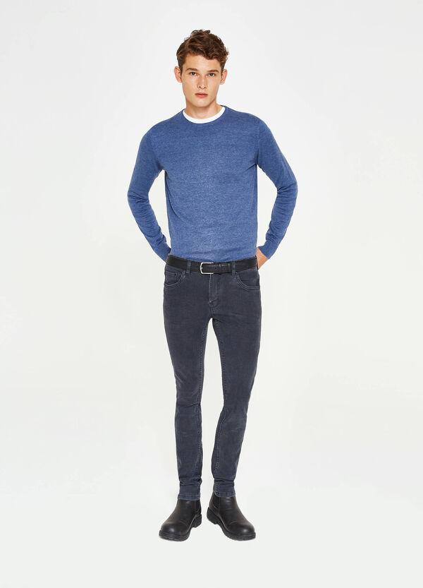 Einfarbiger Pullover aus Baumwolle | OVS