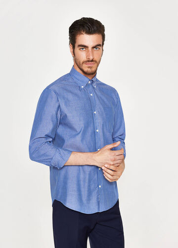 Business-Hemd Regular Fit mit Streifen