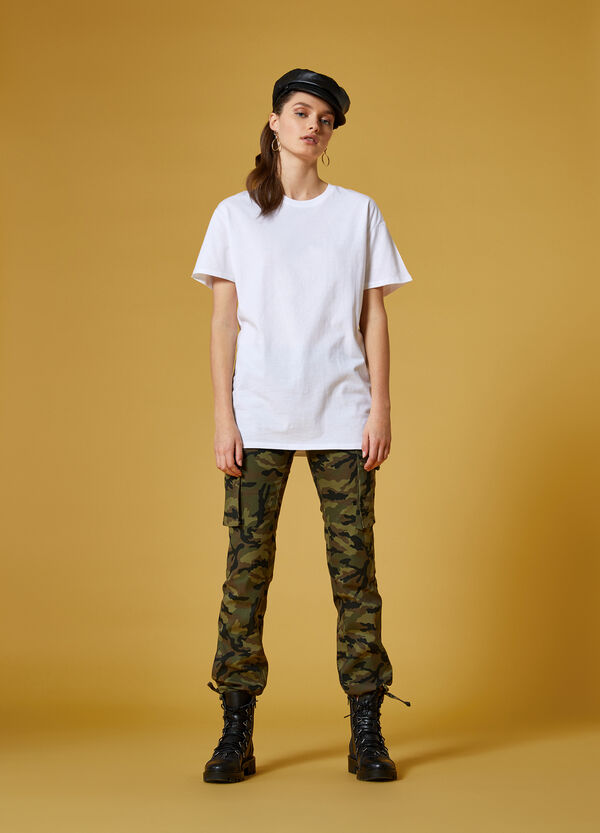 Maxi-T-Shirt Lettering K+K for OVS