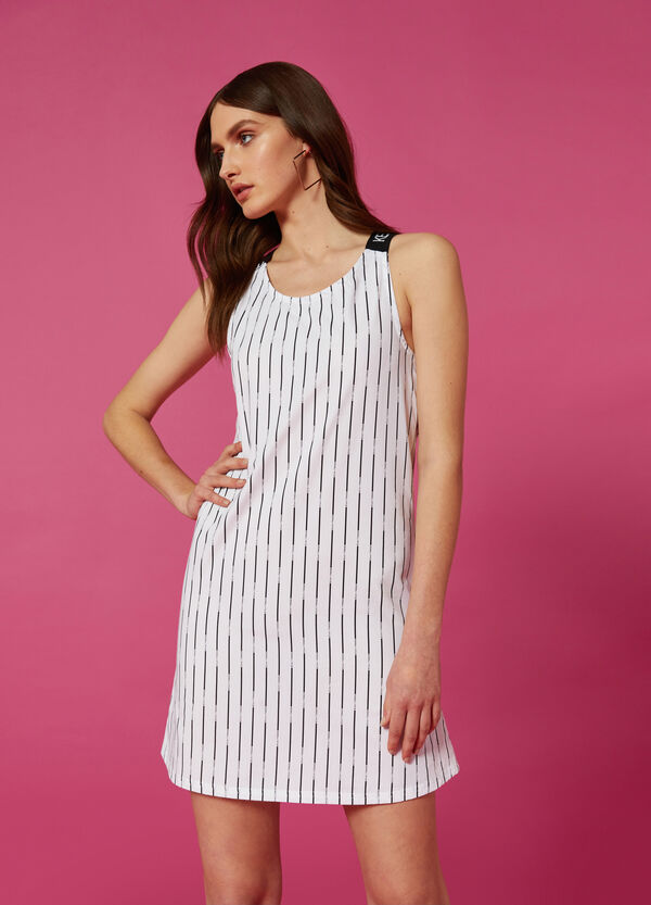 Kurzes Kleid gestreift K+K for OVS