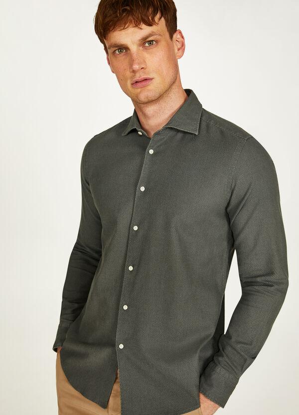 Hemd aus Baumwolle mit Struktur Rumford