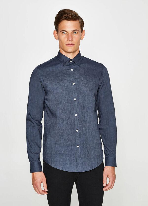 Freizeithemd Slim Fit aus Baumwolle | OVS