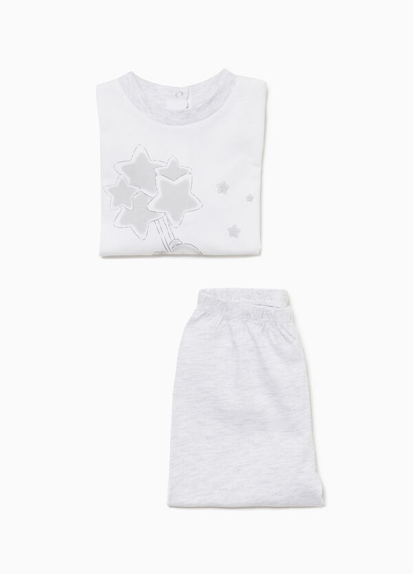 Pyjama reine Baumwolle Tierbabys