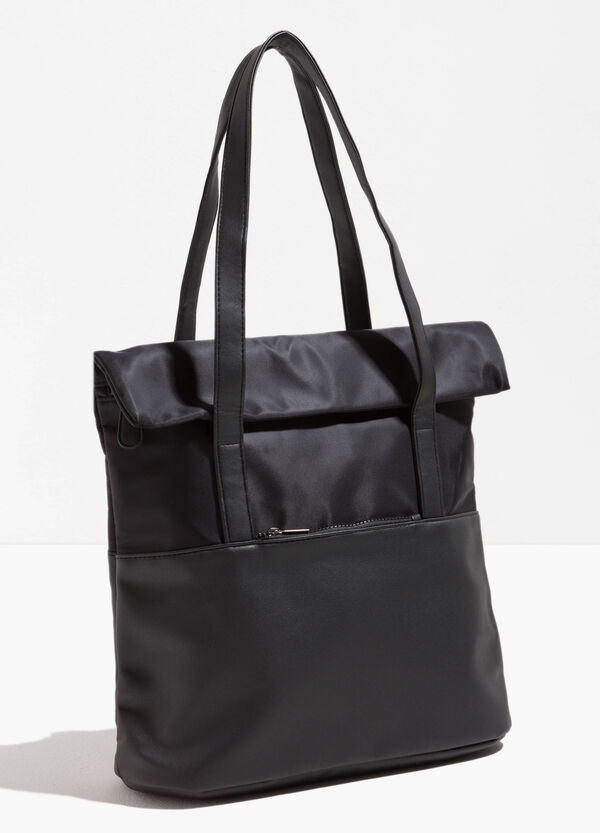 Einfarbige Shopper mit zwei Handgriffen | OVS