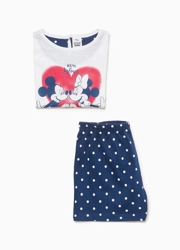 Pyjama Minnie und Mickey Mouse