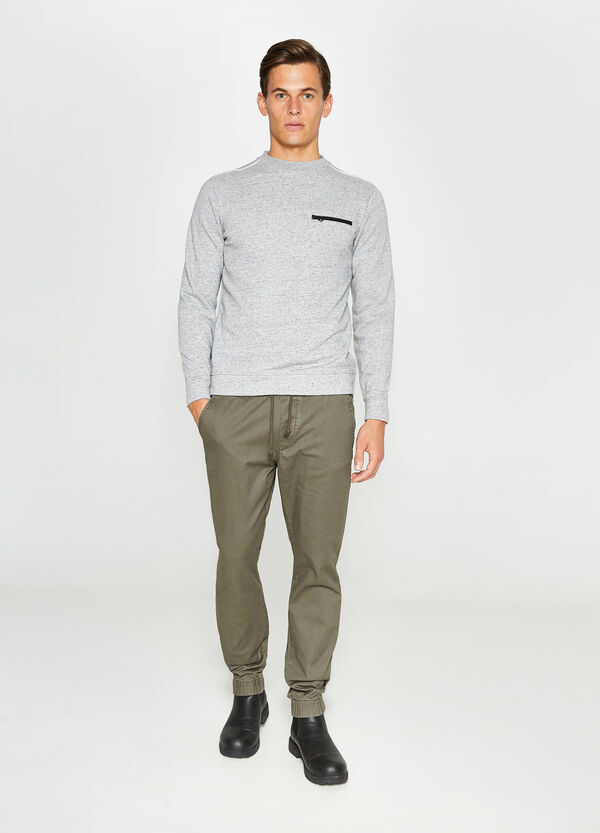 Jogginghose Slim Fit aus Baumwolle   OVS
