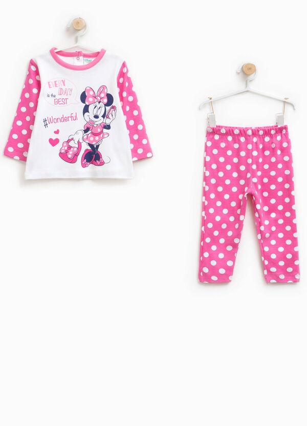 Pyjama reine Baumwolle Muster Minnie
