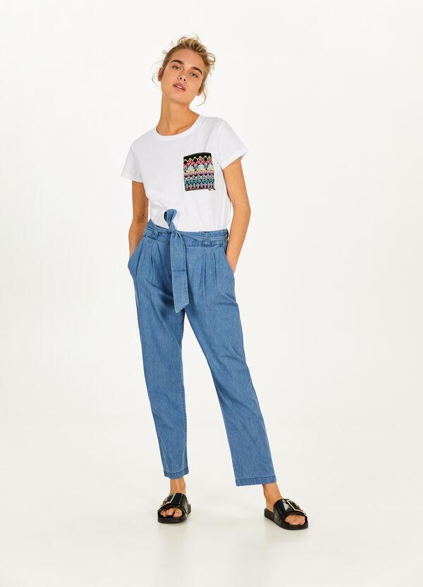 Jeans Jogging Fit mit Schnürband