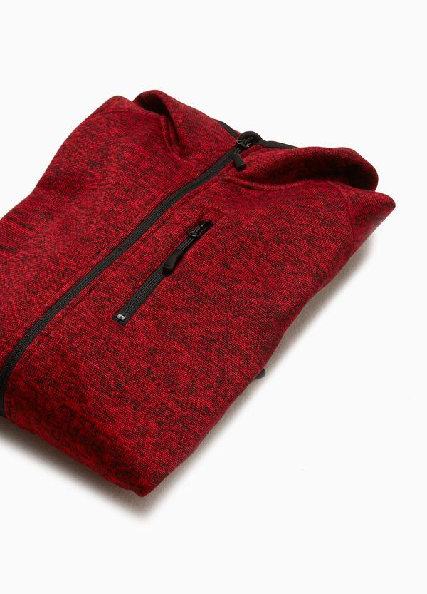 Sweatshirt meliert Smart Basic