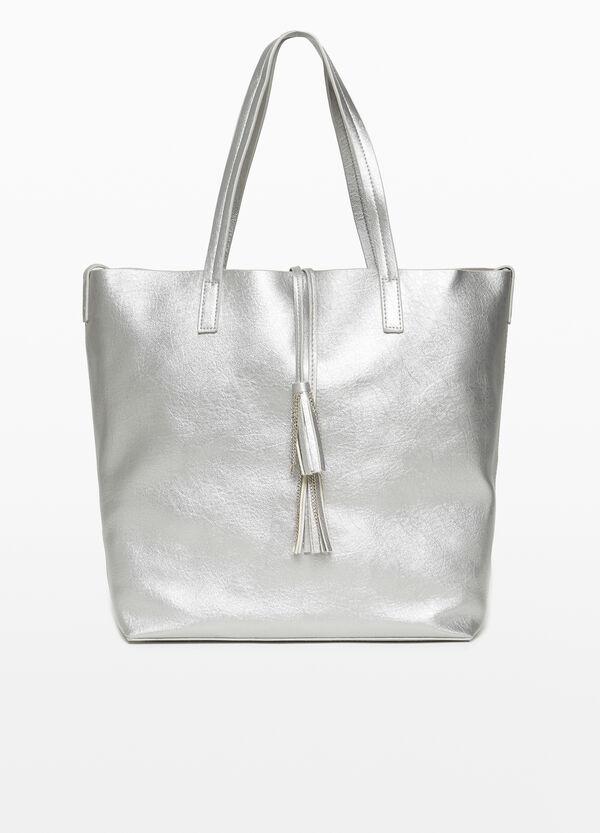 Shopping-Tasche mit Quasten