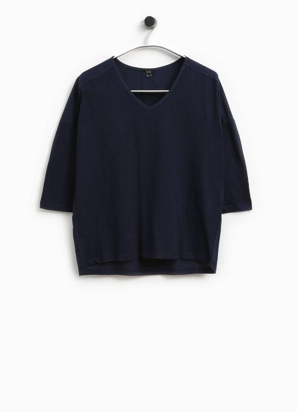 T-Shirt aus reiner Baumwolle Smart Basic | OVS