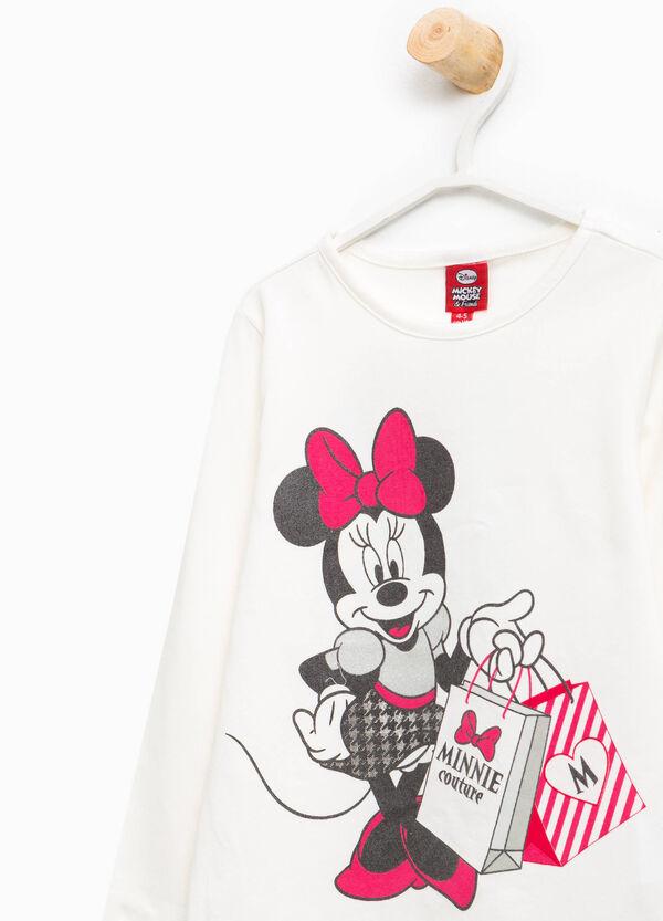 T-Shirt aus Baumwolle Minnie-Aufdruck   OVS