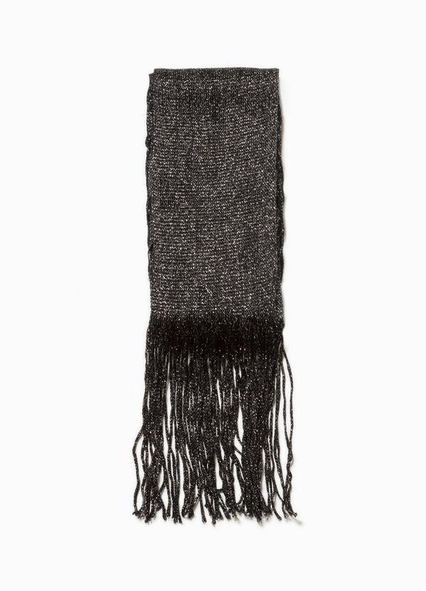 Schal aus Viskose mit Lurex | OVS