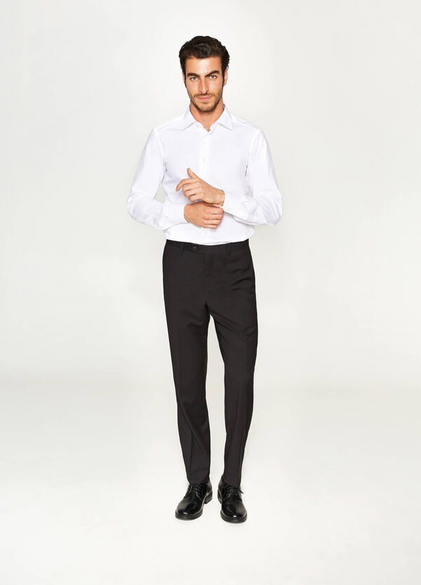 Elegante Hose Regular Fit aus Viskose   OVS
