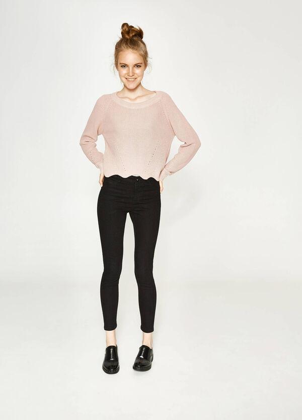Einfarbige Jeans Super Skinny Fit | OVS