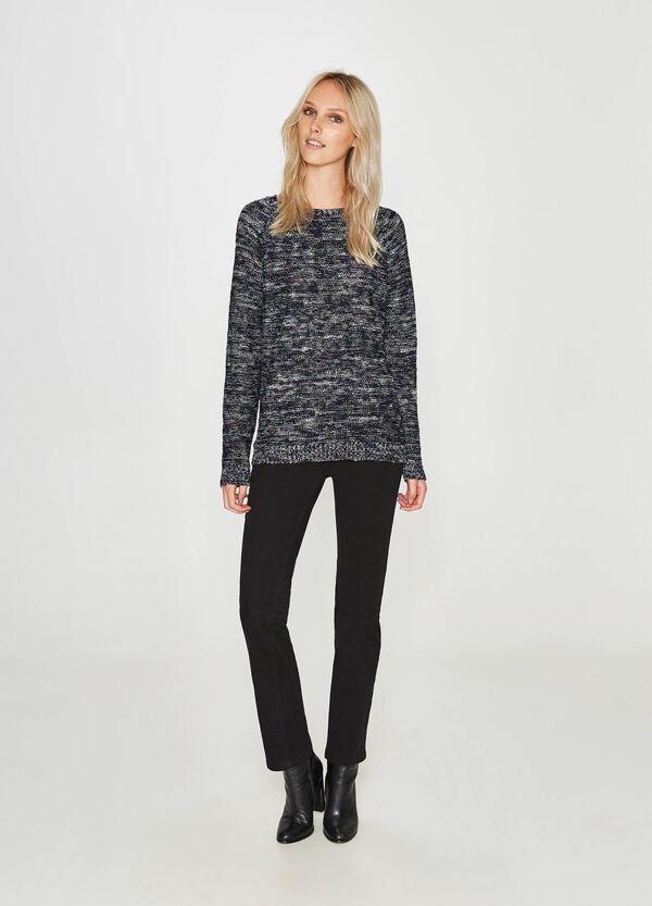 Pullover melierter Baumwoll-Mix | OVS
