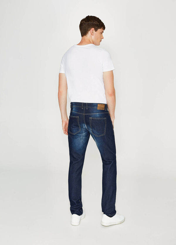 Jeans Straight Fit mit Washed out-Effekt | OVS