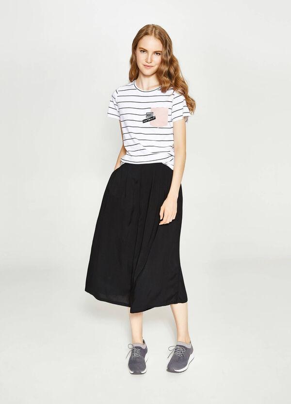 T-Shirt aus reiner Baumwolle | OVS