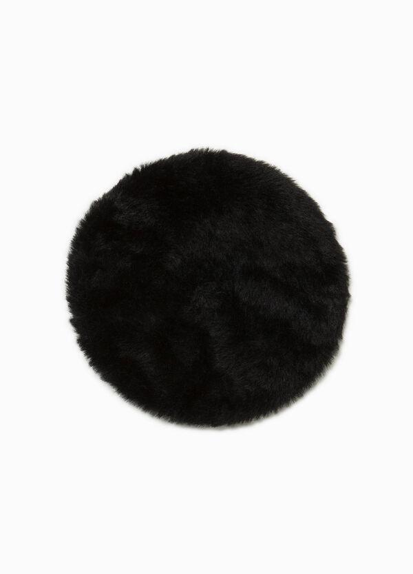 Baskenmütze aus Teddy einfarbig | OVS