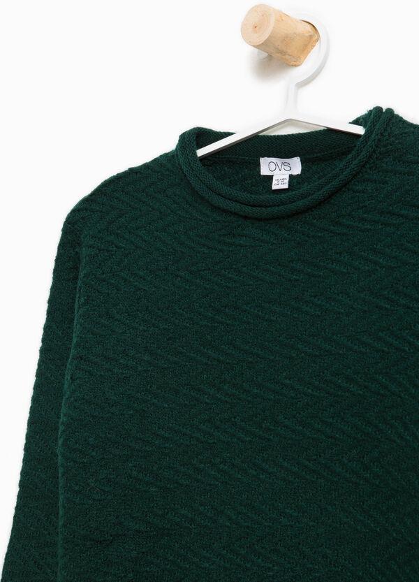 Trikot-Pullover mit Rollkragen | OVS